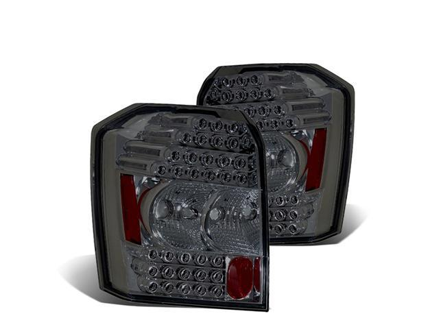CG DODGE CALIBER 07 UP L.E.D TAILLIGHT SMOKE 03-DCB07TLEDSM PAIR