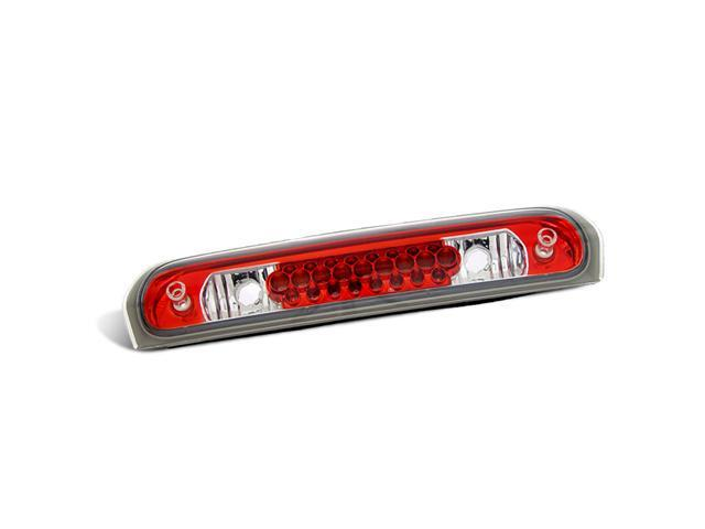 CG DODGE RAM 02-08 L.E.D 3RD BRAKE LIGHT CHRYSTAL LENS / RED HOUSING 11-DR2002LED EACH