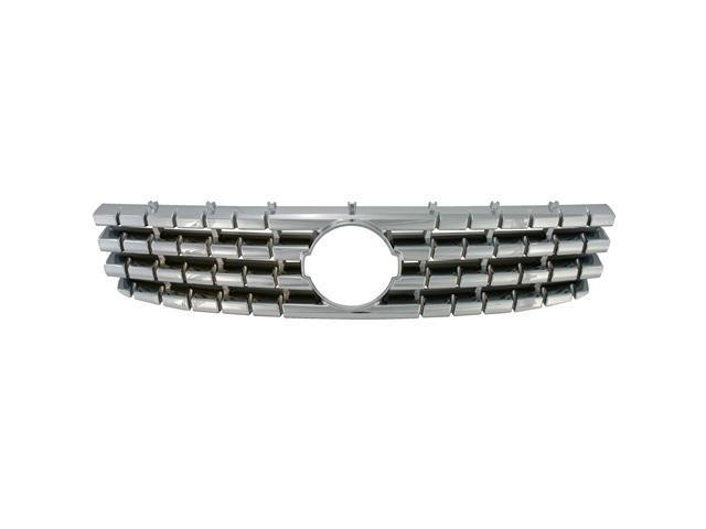 Bully Chrome Grille for a 05-06 NISSAN ALTIMA (4DR) 1pc OVERLAY STYLE  CLIP-ON ONLY Grille Insert GI-61