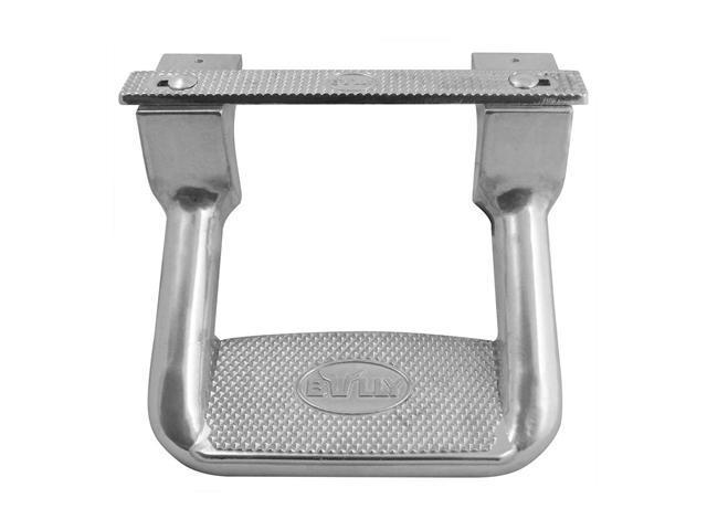 "Bully Bully Aluminum Step 10"" (Pair) Truck Step Polished Die-Cast Aluminum AS-200"