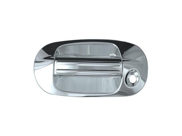 Bully Chrome Door Handle Cover for a 03-09 LINCOLN NAVIGATOR 4 dr  W/O KEYHOLE BASE ONLY W / KEY PAD   Door Handle Cover DH68112D1