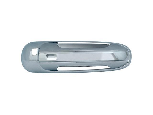 Bully Chrome Door Handle Cover for a 02-08 DODGE RAM / 99-04 JEEP  GRAND CHEROKEE / 02-07 JEEP  LIBERTY / 06-08 MITSUBUISHI ...