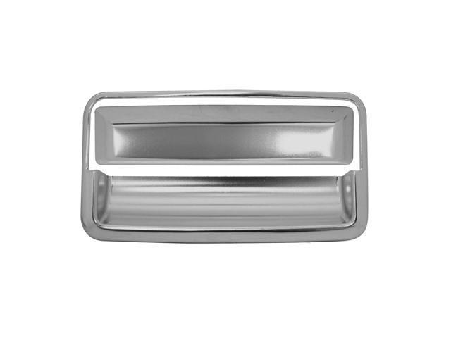 Bully Stainless Steel Tailgate Handle Trim Kit For 88-98 GM C/K Truck 1500 / 2500 LD - 2 Piece Kit Tailgate Handle Cover ...