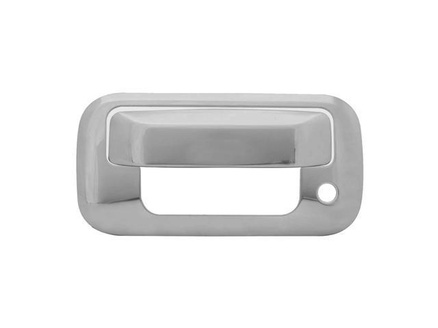 Bully Stainless Steel Tailgate Handle Trim Kit For 04-Up Ford F-150 F-150 Supercrew - 2 Piece Kit Tailgate Handle Cover Chrome ...