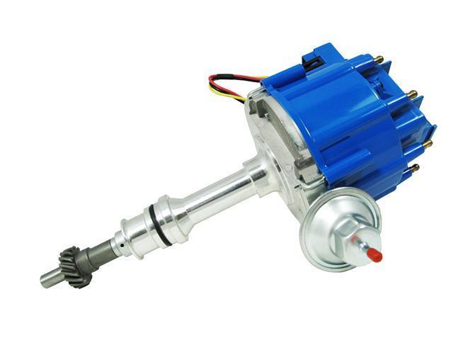 TSP HEI DISTRIBUTOR FORD 351C 429 460 CLEVELAND V8 50K V COIL BLUE CAP JM6506BL