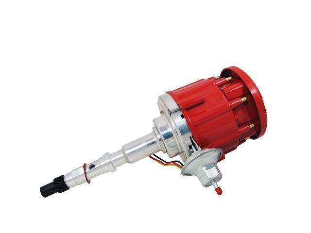 TSP HEI DISTRIBUTOR - AMC JEEP 290-401 V8 50K V COIL, SUPER CAP,RED JM6512R