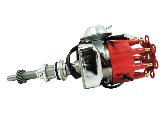 TSP Ready to Run Distributor- FORD 351WINDSOR V8 ENGINES, RED CAP JM6710R