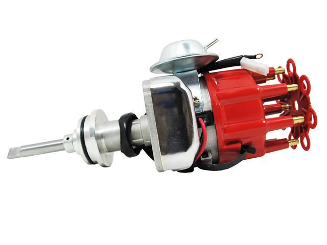 TSP Ready to Run Distributor DODGE 413 426 440 BB V8 RED JM6714R