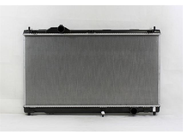PAC 06-09 LEXUS IS250 AT/MT 10-10 LEXUS IS250C AT/MT 06-09 LEXUS IS350 AT/MT 10-10 LEXUS IS350C AT/MT Radiator 1-row PLASTIC TANK/ALUMINIUM CORE PR2968A