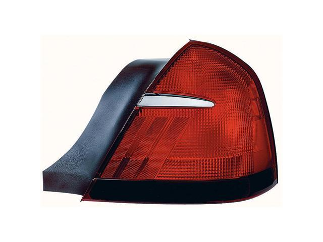 Collison Lamp 98-98 Mercury Grand Marquis 99-02 Mercury Grand Marquis Tail Light Lens Left 11-5374-01