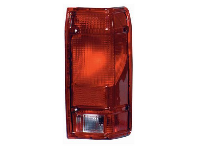 Collison Lamp 83-90 Ford Ranger Tail Light Lens Right 11-1376-01