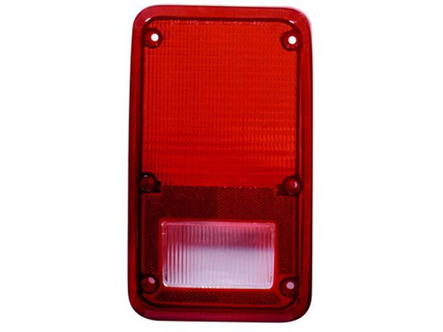 Collison Lamp 78-80 Dodge B100/B200/B300 78-80 Plymouth PB100/PB200/PB300 81-83 Plymouth PB150/PB250/PB350 81-93 Dodge B150/B250/B350 Tail Light Lens Left 11-1436-02