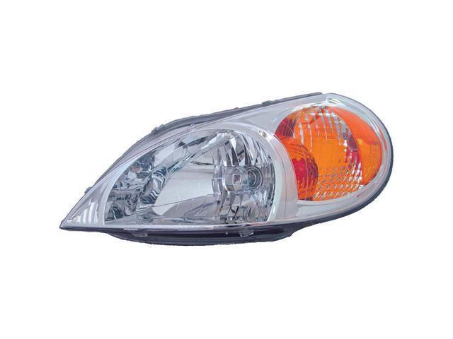 Collison Lamp 01-02 Kia Rio Headlight Assembly Front Left 20-6536-00
