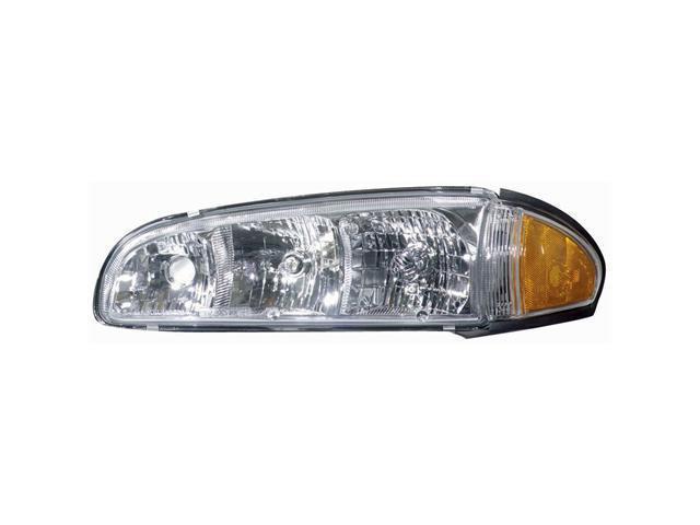 Collison Lamp 96-99 Pontiac Bonneville Headlight Assembly Front Left 20-5416-09