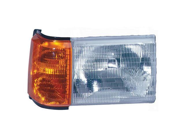 Collison Lamp 87-91 Ford Bronco 87-91 Ford F-150 87-91 Ford F-250 87-91 Ford F-350 88-88 Ford F Super Duty 90-91 Ford F Super Duty Headlight Assembly Front Right 20-1570-00