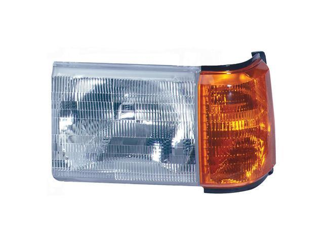 Collison Lamp 87-91 Ford Bronco 87-91 Ford F-150 87-91 Ford F-250 87-91 Ford F-350 88-88 Ford F Super Duty 90-91 Ford F Super Duty Headlight Assembly Front Left 20-1571-00