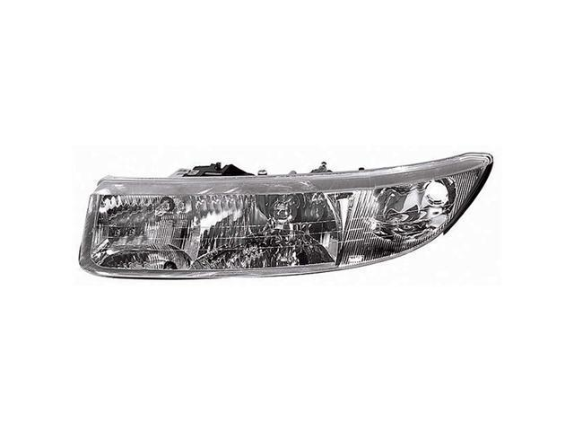 Collison Lamp 97-00 Saturn SC1 97-00 Saturn SC2 Headlight Assembly Front Left 20-5714-00