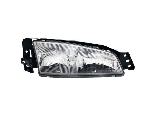 Collison Lamp 92-95 Pontiac Grand Am Headlight Assembly Front Right 20-1938-00