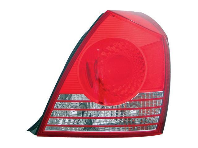 Collison Lamp 04-06 Hyundai Elantra Tail Light Lens Assembly Right 11-6017-00