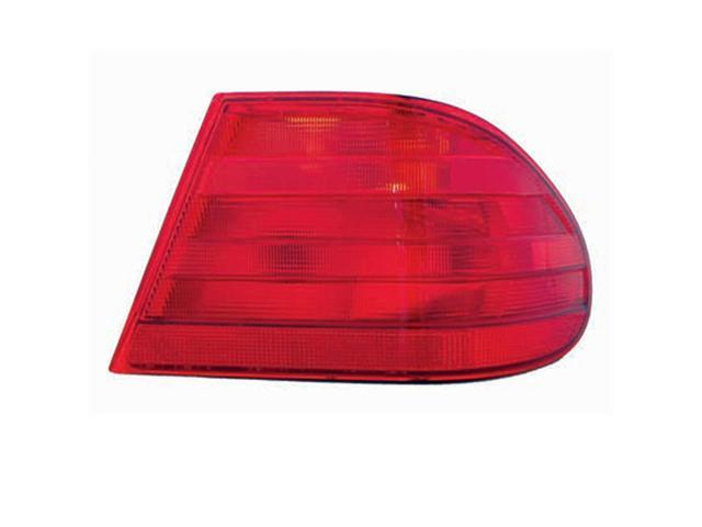 Collison Lamp 96-99 Mercedes-Benz E300 96-99 Mercedes-Benz E320 97-97 Mercedes-Benz E420 98-99 Mercedes-Benz E430 99-99 Mercedes-Benz E55 AMG Tail Light Lens Assembly Right 11-5189-00