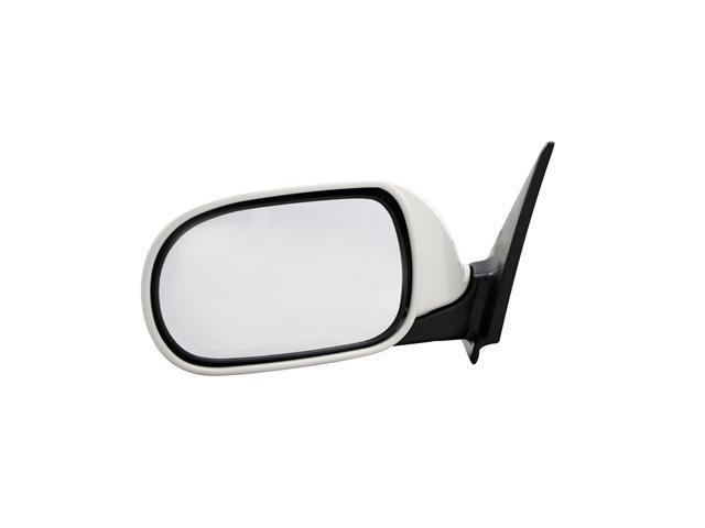 Pilot 03-06 Infiniti G35 Sedan Power Heated Mirror Left Black Smooth K6302-AM705