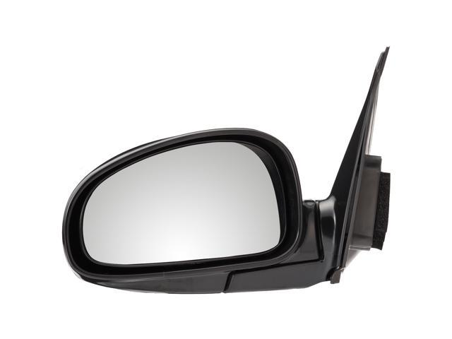 Pilot 01-06 Kia Optima EX, SE Model Power Heated Mirror Left Black Smooth KA509410AL