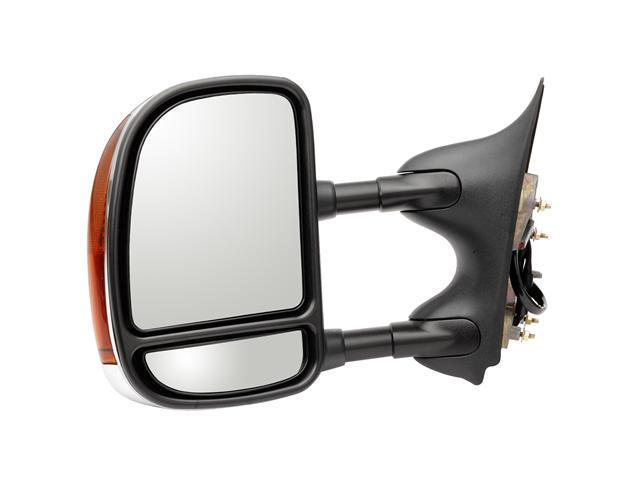 Pilot Power Heated Mirror Left Chrome/Black Smooth/Textured FDS09410ML