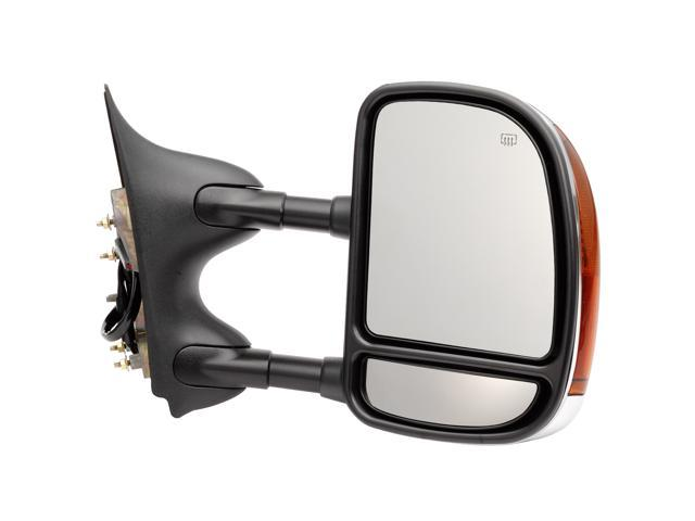 Pilot Power Heated Mirror Right Chrome/Black Smooth/Textured FDS09410MR