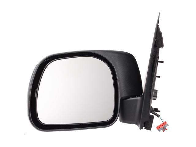 Pilot 08-10 Ford F-250 Super Duty Sail Type 08-10 Ford F-350 Super Duty Sail Type 08-10 Ford F-450 Super Duty Sail Type Power Non Heated Mirror Left Black Textured FDS19410AL
