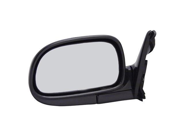 Pilot 93-95 Toyota Corolla LE Model Power Non Heated Mirror Left Black Smooth 5230032