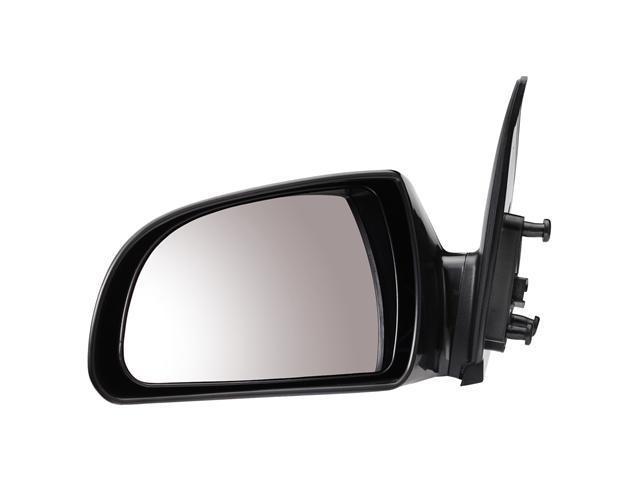 Pilot 07-10 Hyundai Sonata Power Heated Mirror Left Black Smooth HY249410AL
