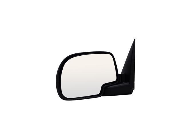 Pilot Manual Mirror Left Black Textured 2170312
