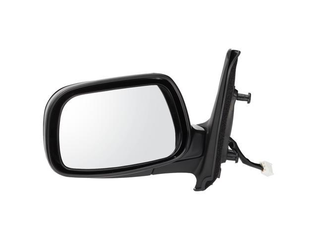 Pilot 01-03 Toyota Prius Power Non Heated Mirror Left Black Smooth TYB094100L