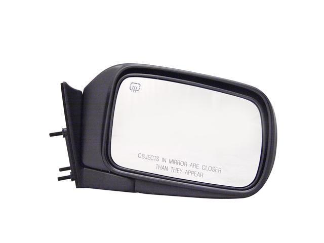 Pilot 94-95 Chrysler Town & Country 94-95 Dodge Caravan 94-95 Dodge Grand Caravan 94-95 Plymouth Grand Voyager 94-95 Plymouth Voyager Power Heated Mirror Right Black Textured 4400131