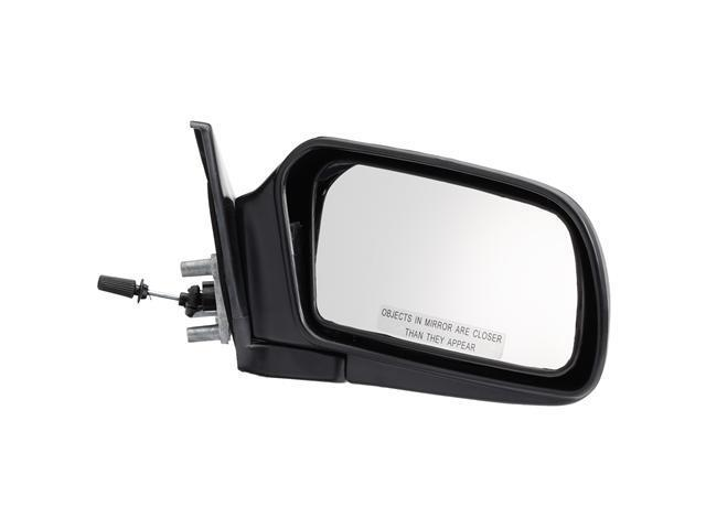 Pilot 88-92 Mazda 626 Manual Remote Mirror Right Black Smooth MZ6194100R