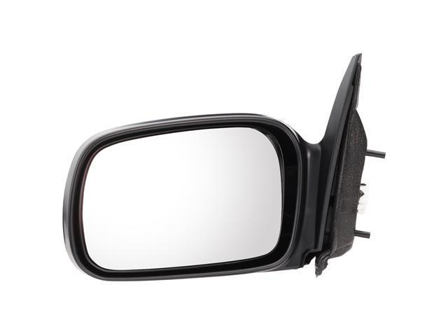 Pilot 06-10 Honda Civic DX, DX-G Model Coupe Manual Mirror Left Black Smooth HD059410BL