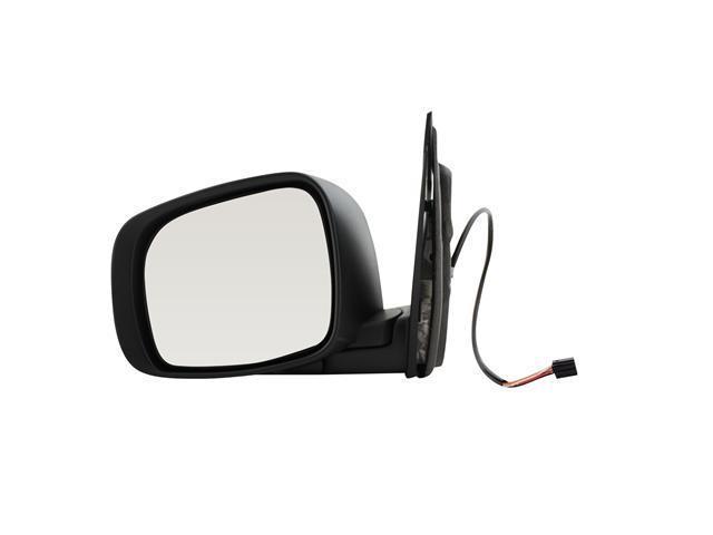 Pilot 08-10 Chrysler Town & Country 08-10 Dodge Grand Caravan Power Heated Mirror Left Black Smooth/Textured 4400342