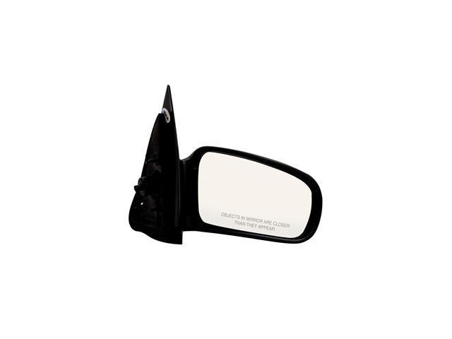 Pilot 95-05 Chevrolet Cavalier Coupe 95-05 Pontiac Sunfire Coupe Manual Remote Mirror Right Black Smooth 1330121