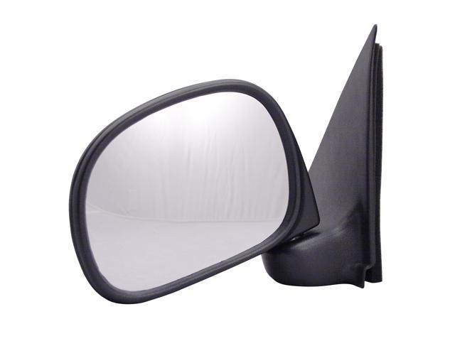 Pilot Manual Mirror Left Black Textured 3030212