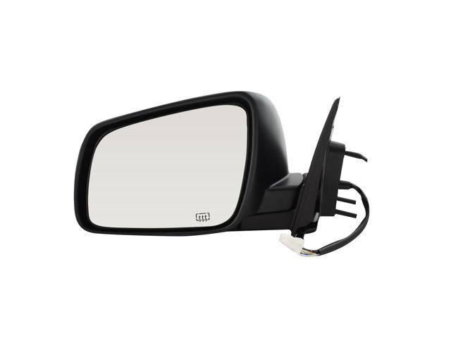 Pilot 08-10 Mitsubishi Lancer Power Heated Mirror Left Black Smooth/Textured 6580242