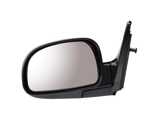 Pilot 05-06 Hyundai Santa Fe Power Non Heated Mirror Left Black Smooth HY909410CL