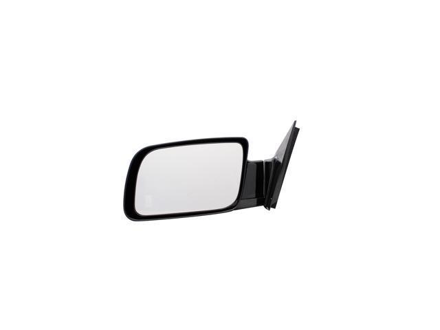 Pilot Manual Mirror Left Black Smooth MI-030