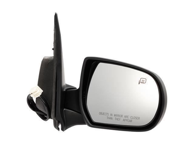 Pilot 05-06 Mazda Tribute Power Heated Mirror Right Black Smooth MZD09410CR