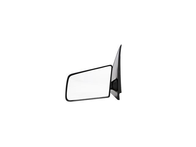 Pilot 94-03 Chevrolet S10 Pickup Regular Cab, Ext Rectangular Mirror 94-03 GMC Sonoma Regular Cab, Ext Rectangular Mirror Manual Mirror Left Black Textured MI-046