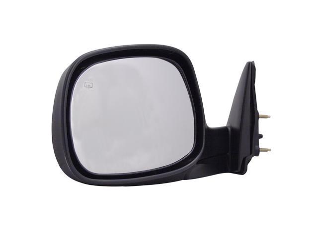 Pilot 03-04 Toyota Tundra SR5 Model Regular Cab, Access Cab Power Heated Mirror Left Chrome/Black Smooth/Textured 5330042