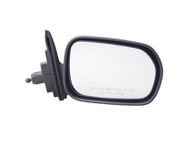 Pilot 98-99 Honda Accord Sedan Manual Remote Mirror Right Black Smooth 4700311