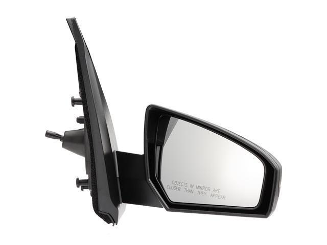 Pilot 07-10 Nissan Sentra Manual Remote Mirror Right Black Smooth NS2694100R