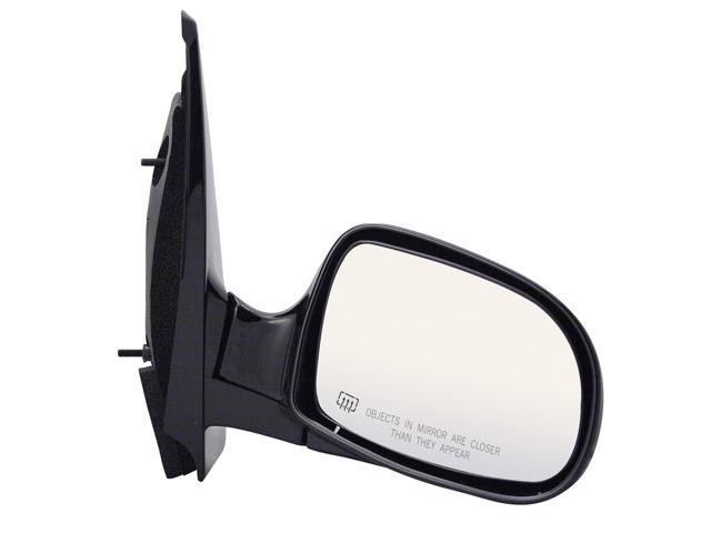 Pilot 99-00 Ford Windstar w/o Memory Power Heated Mirror Right Black Smooth 3230141