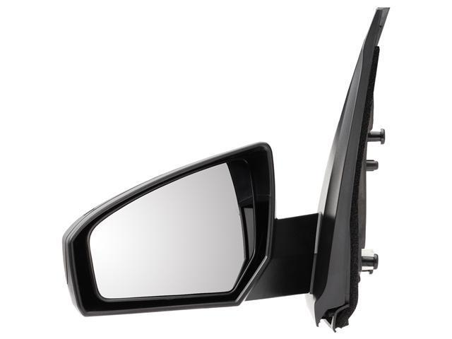 Pilot 07-10 Nissan Sentra Power Non Heated Mirror Left Black Smooth NS269410AL