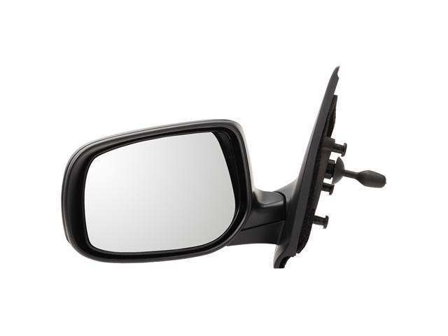 Pilot 07-10 Toyota Yaris Sedan Manual Remote Mirror Left Black Smooth TYM19410BL